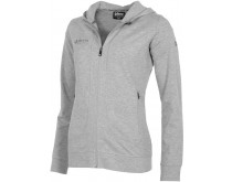 Reece Varsity Hooded Zip Sweater Damen
