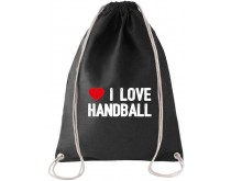I Love Handbal Rugtas