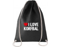 I Love Korfbal Rugtas