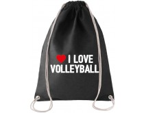 I Love Volleybal Rugtas