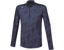 Mizuno Jacquard Graphic Half-Zip Men