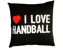 I Love Handball Pillow