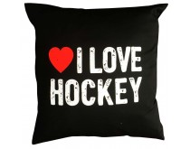 I Love Hockey Kissen 2018