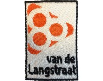 Borduur Badge 80 van de Langstraat