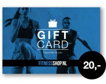 Giftcard Fitnessshop.nl 20 euro