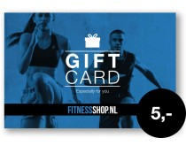 Giftcard Fitnessshop.nl 5 euro