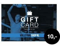 Giftcard Volleybalshop.nl 10 euro