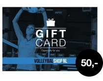 Giftcard Volleybalshop.nl 50 euro