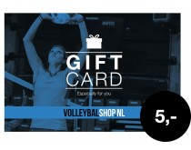 Giftcard Volleybalshop.nl 5 euro