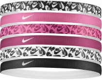 Nike Printed Hairbands 6 Stuks
