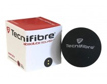 Tecnifibre Squashball Double Yellow Dot