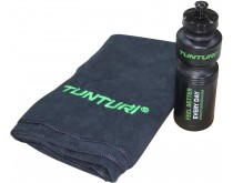 Tunturi Towel & Bottle Set