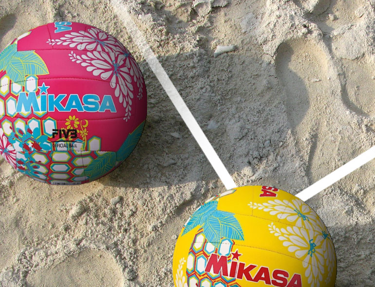 Beachvolleyballen