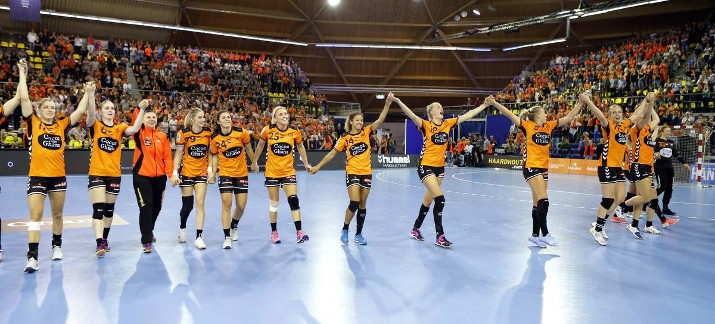 WK handbal 2017 Nederlands Handbalteam