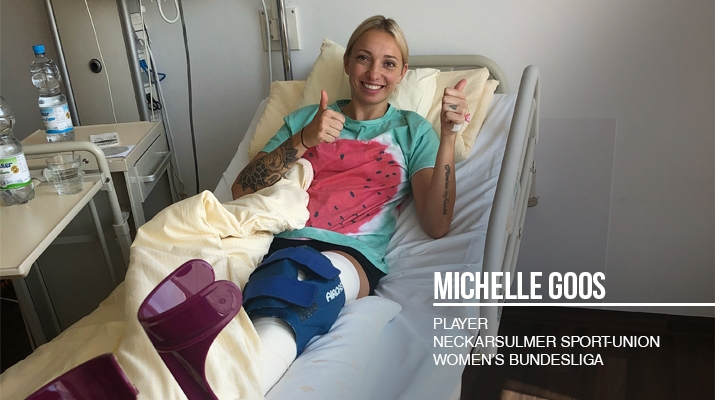 Michelle Goos Injury