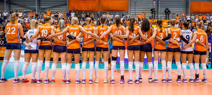 Nederlands Dames Volleybalteam EK 2017